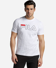 BACK TO THE 90S uomo FILA LOGO TEE M