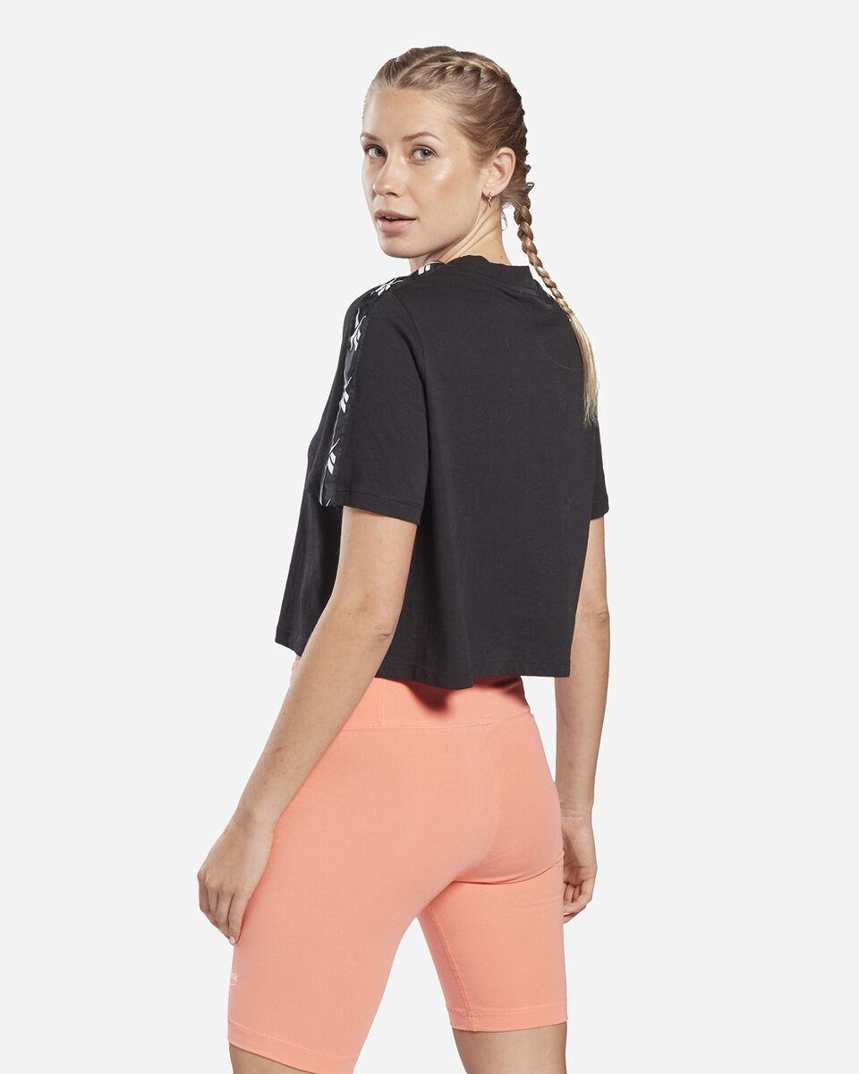 T-Shirt REEBOK TAPE LOGO W S5258650 scatto 3