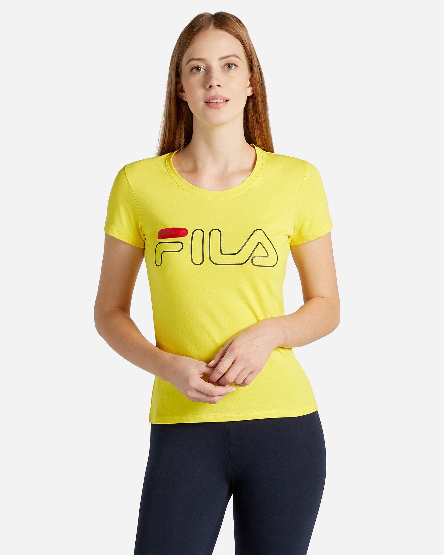 T-Shirt FILA LOGO W S4067235 scatto 0