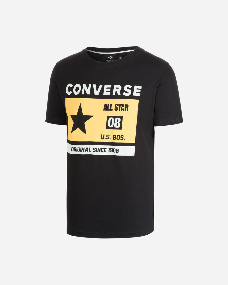 T-Shirt CONVERSE HERITAGE M S5244065 scatto 0