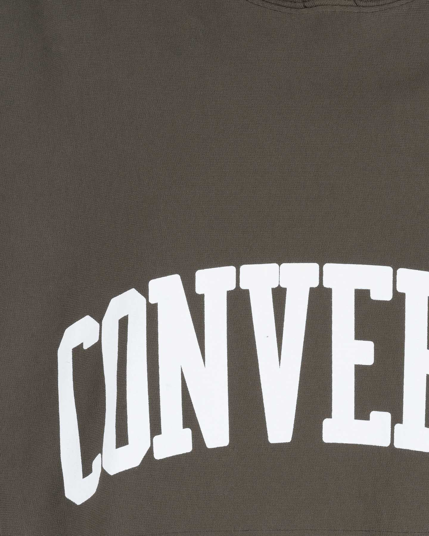 Felpa CONVERSE HOODED CROPPED W S4071543 scatto 2