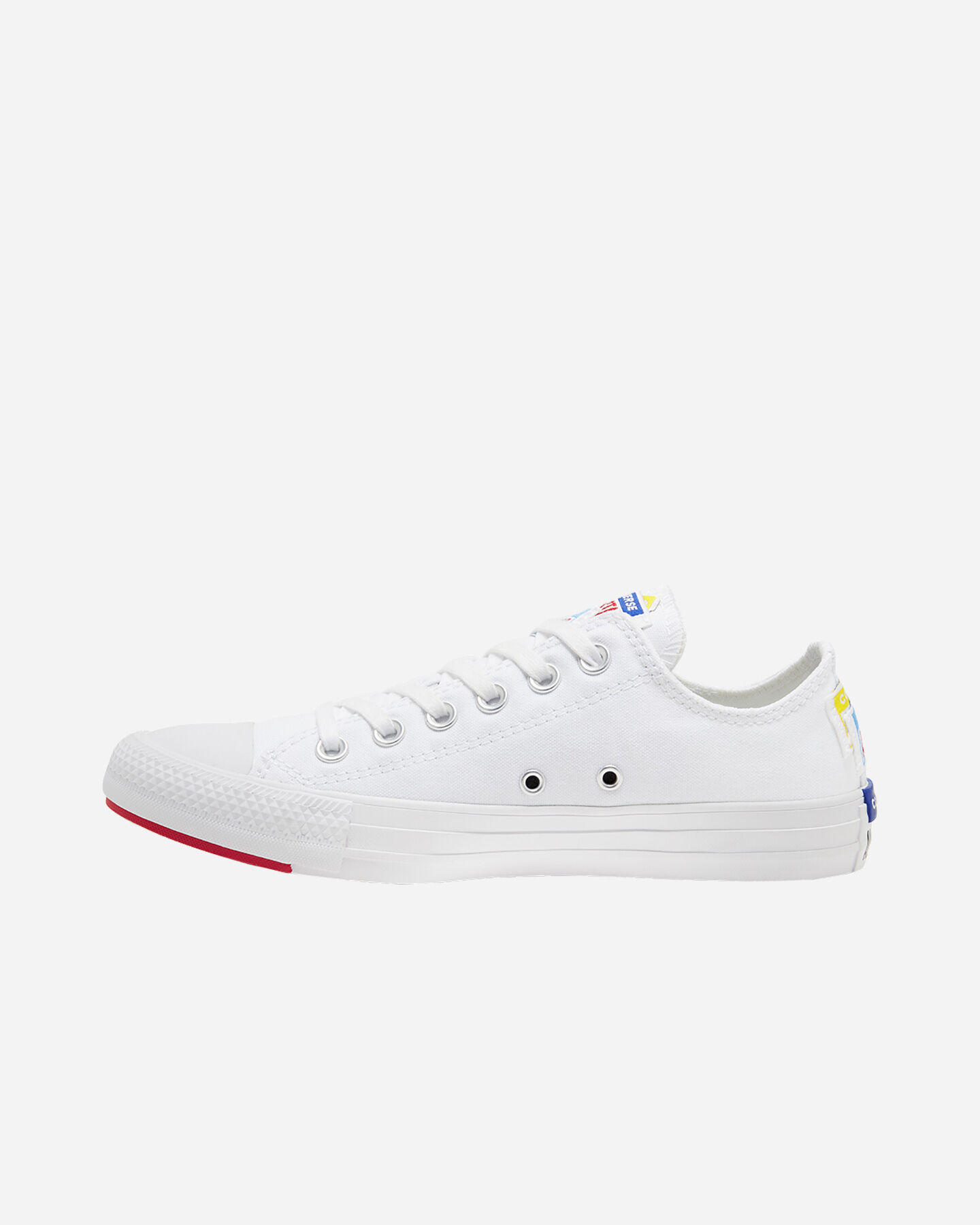 Scarpe sneakers CONVERSE CHUCK TAYLOR ALL STAR LOGO STACKED M S4074925 scatto 5