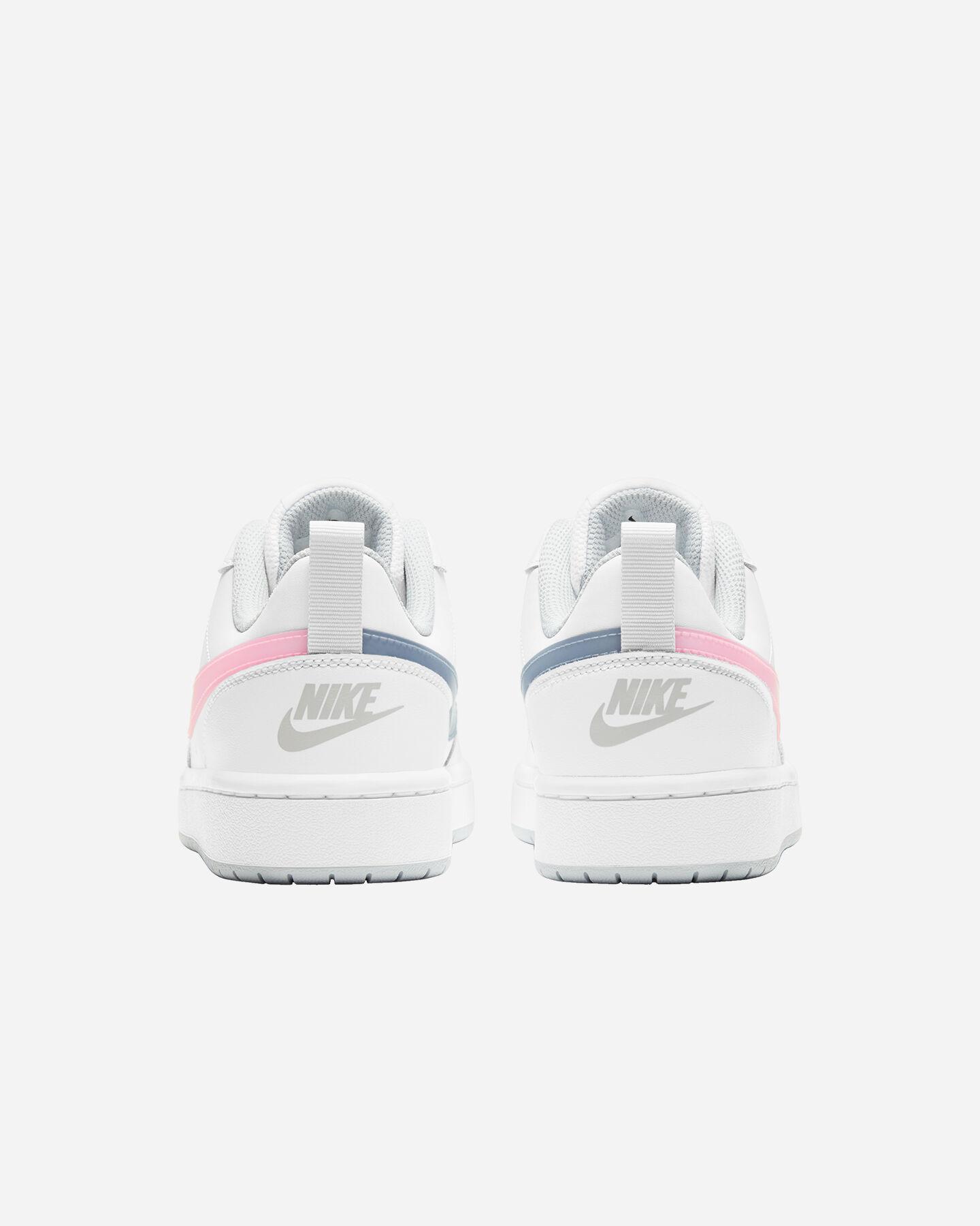 Scarpe sneakers NIKE COURT BOROUGH LOW 2 GS JR S5268507 scatto 4