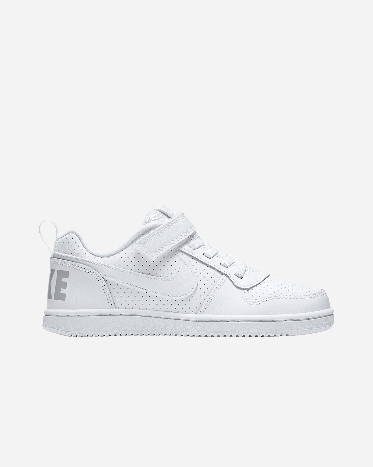 Scarpe sportive NIKE COURT BOROUGH LOW JR PS S4021208 scatto 0