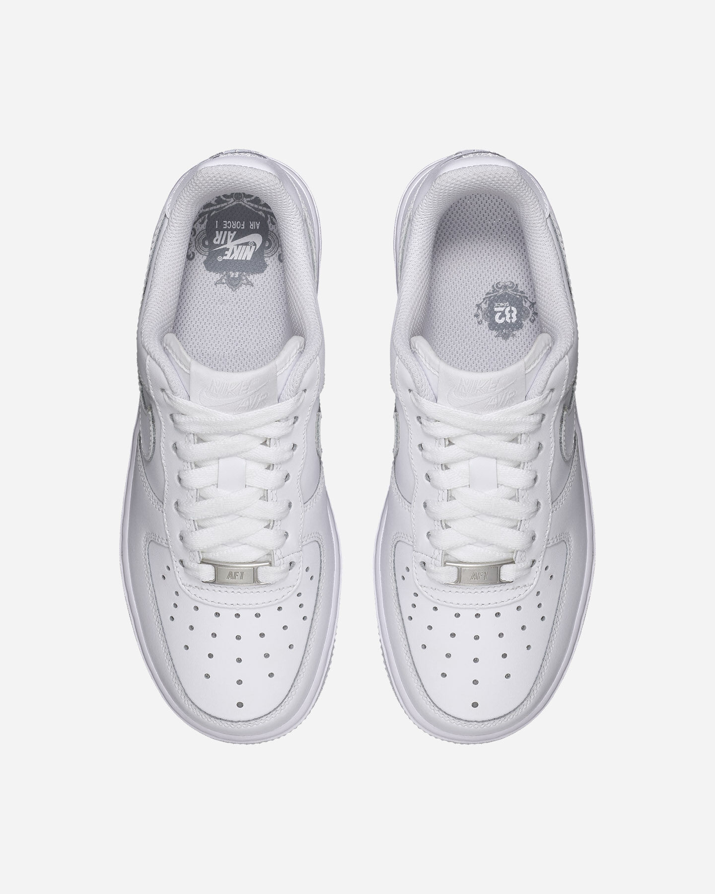 Scarpe sneakers NIKE AIR FORCE 1 JR GS S1261167 scatto 3