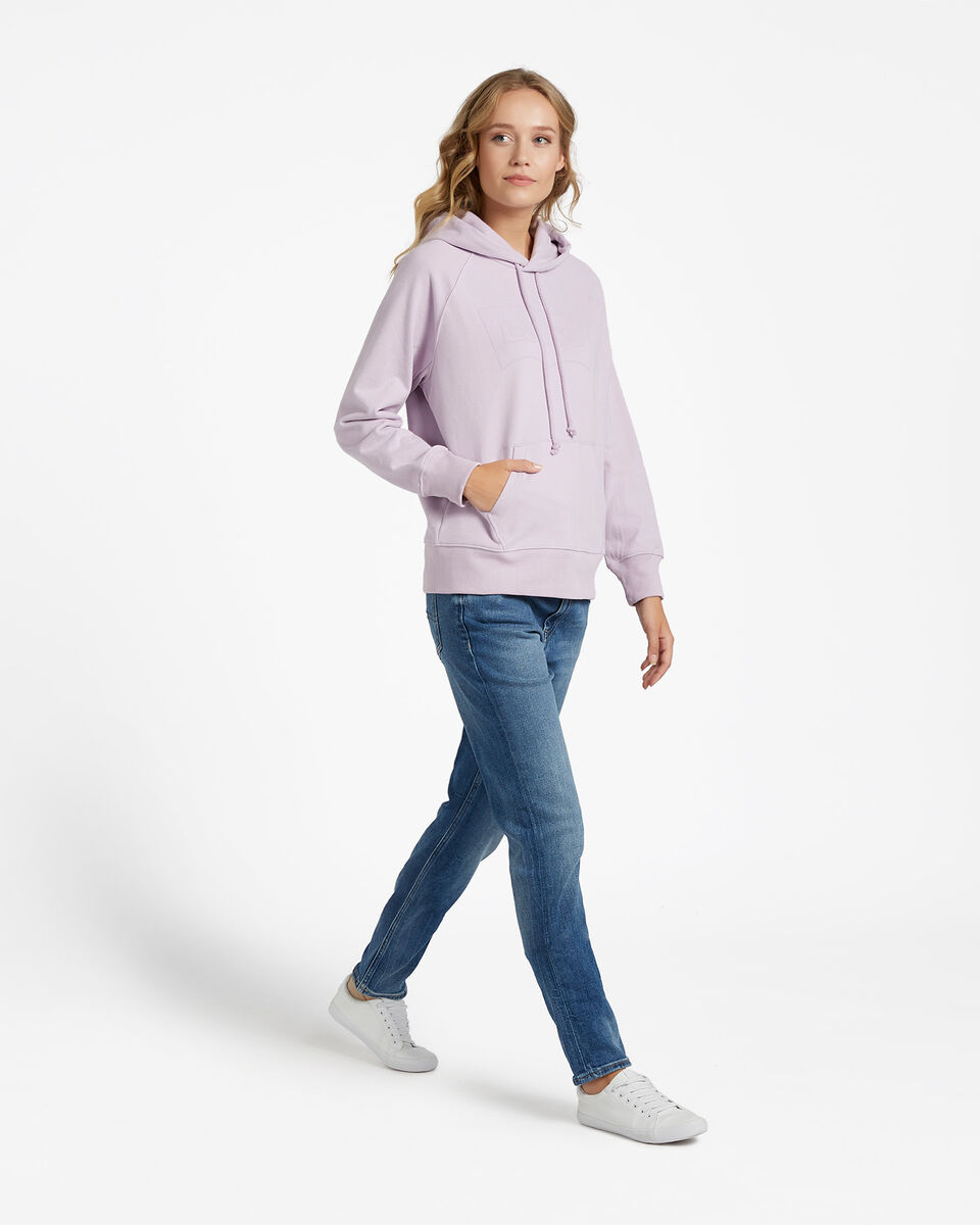 Felpa LEVI'S LOGO OUTLINE BATWING W S4083507 scatto 4