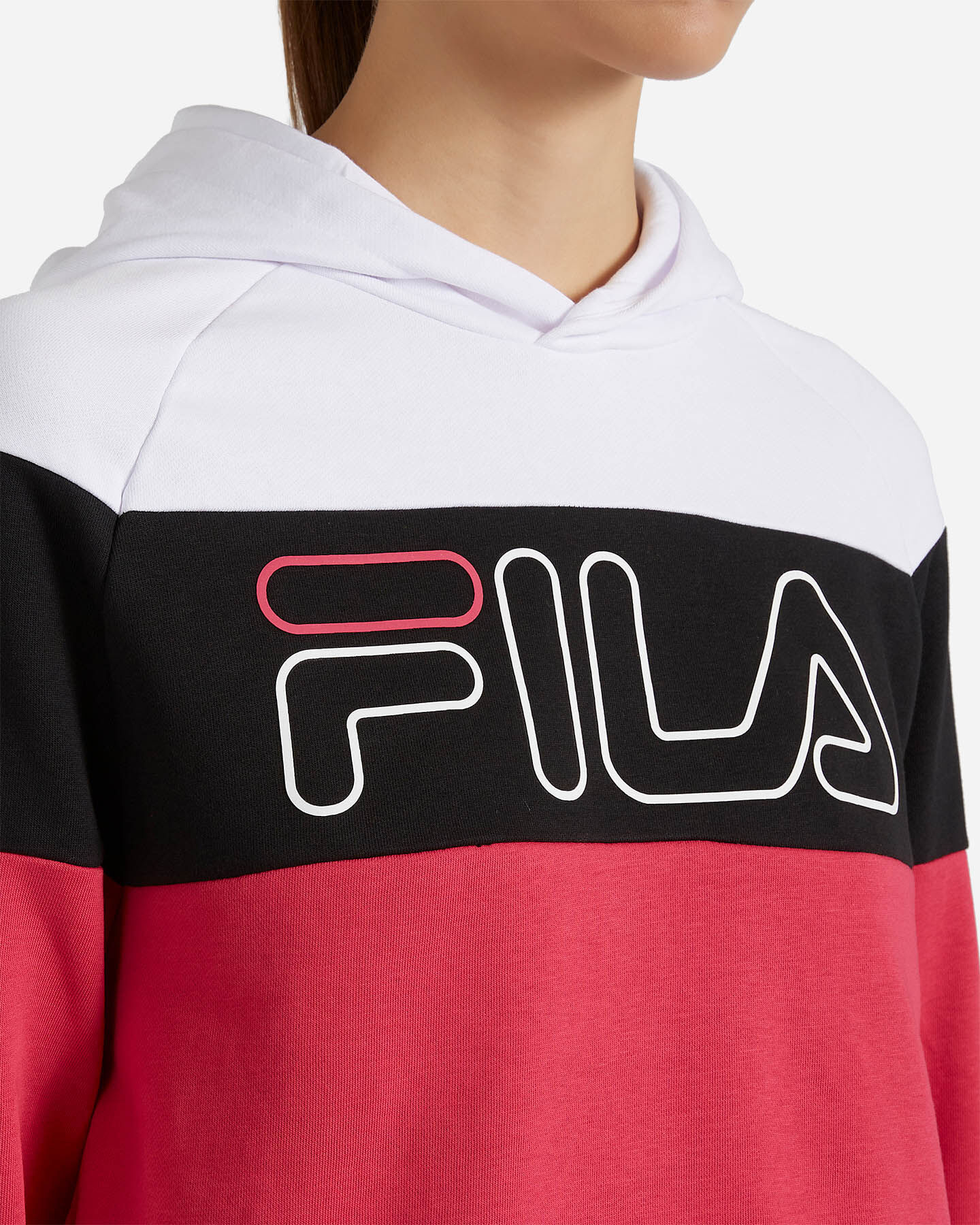 Felpa FILA COLOR BLOCK W S4080519|001/258|L scatto 4