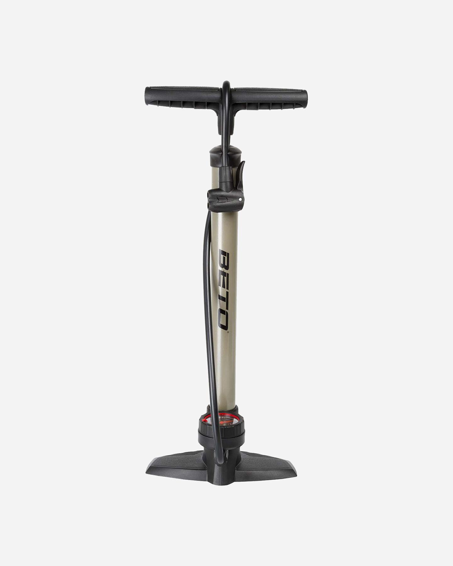 Pompa bici BONIN POMPA IN FERRO MANOMETRO S1326503 1 UNI scatto 0