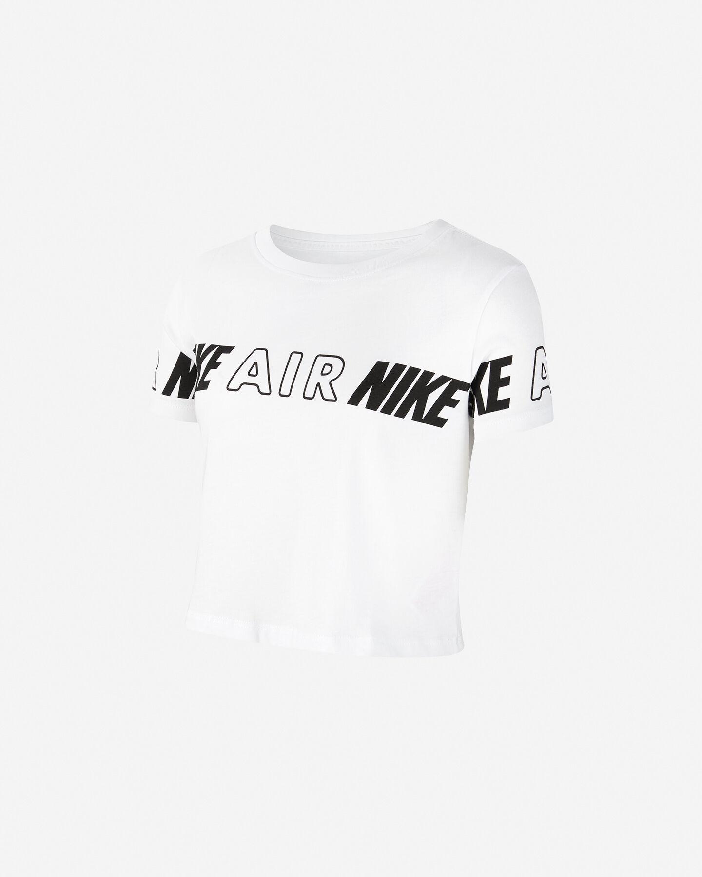 T-Shirt NIKE CROP AIR JR S5225950 scatto 0