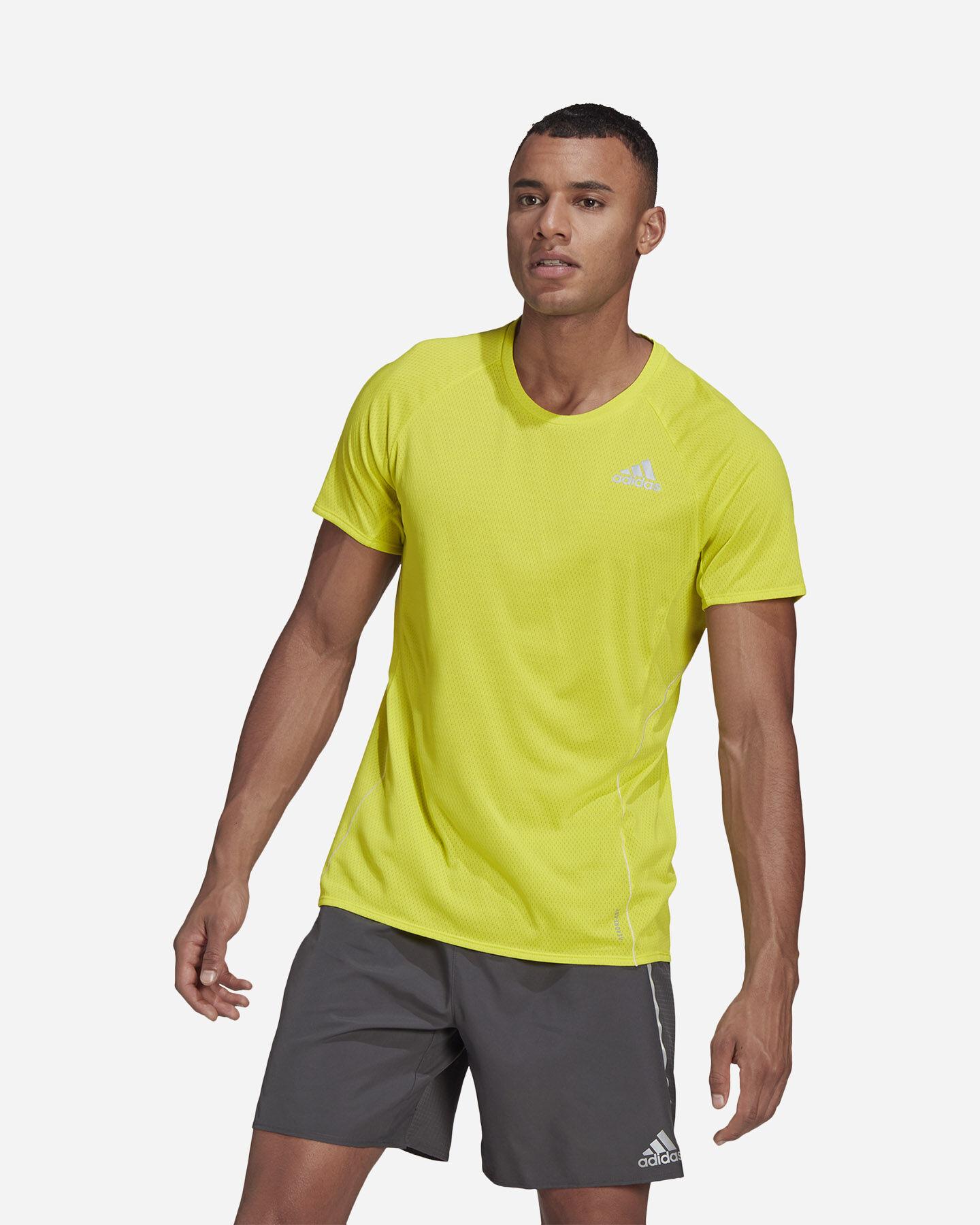 T-Shirt running ADIDAS RUNNER M S5273910 scatto 1