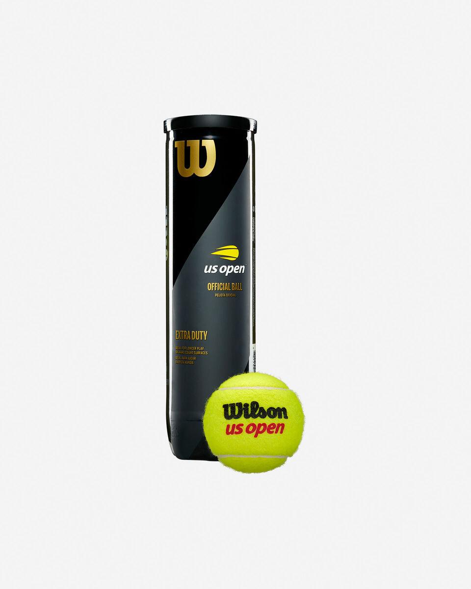 Palle tennis WILSON TUBO 4 PALLE US OPEN S1282037 scatto 0