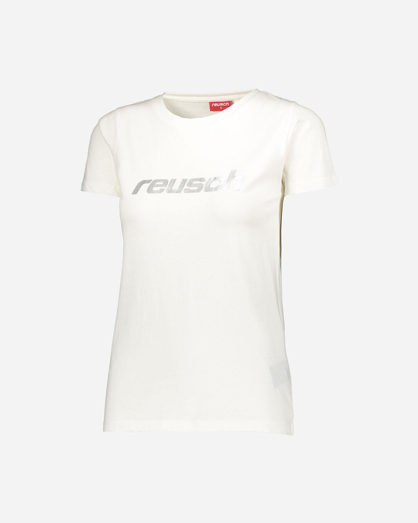 T-Shirt REUSCH LOGO MARSHMALLOWS W S4077261 scatto 0