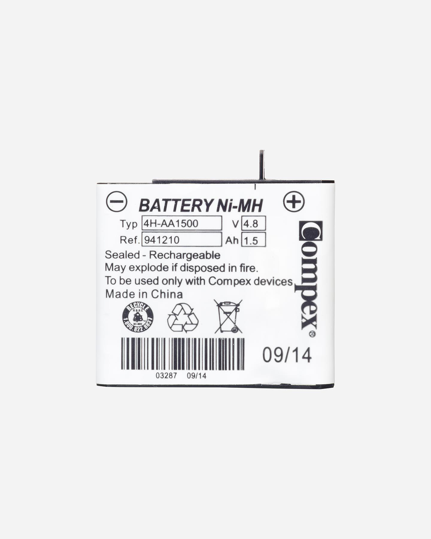 Accessorio elettrostimolatore COMPEX BATTERIA NEW S0644244|9999|UNI scatto 1