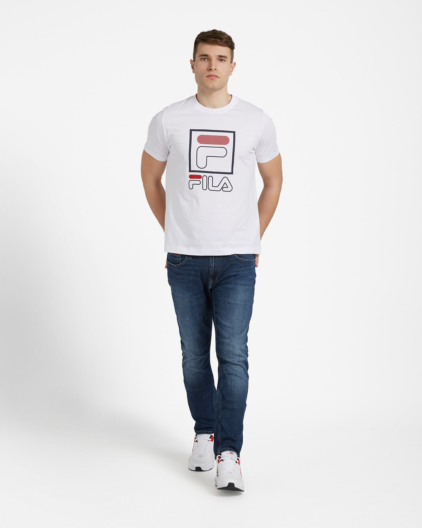 T-Shirt FILA LOGO VINTAGE M S4073889 scatto 3