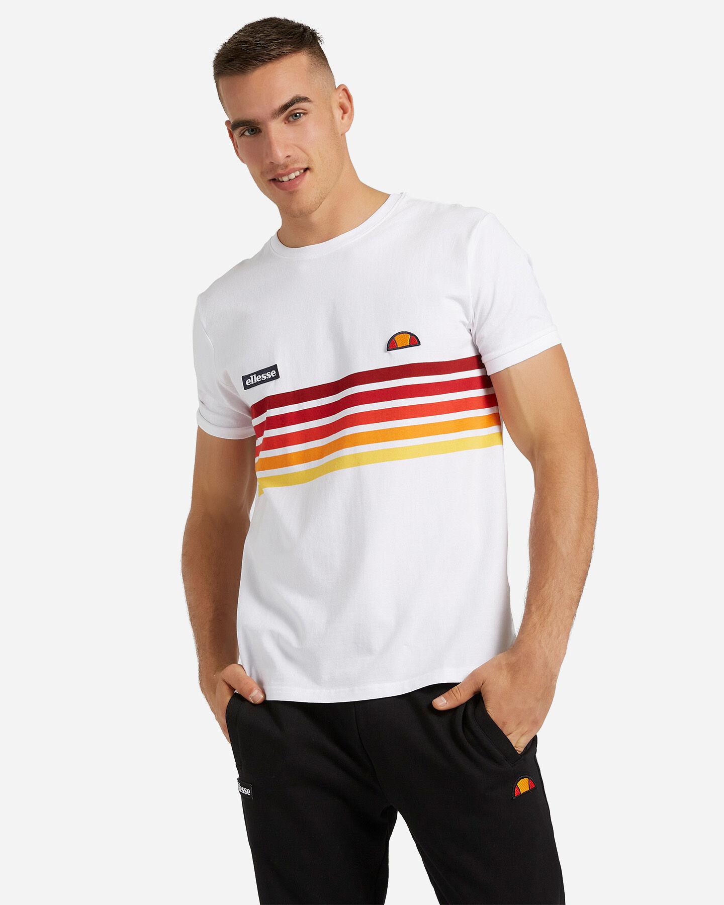 T-Shirt ELLESSE RAINBOW STRIPES M S4073850 scatto 0