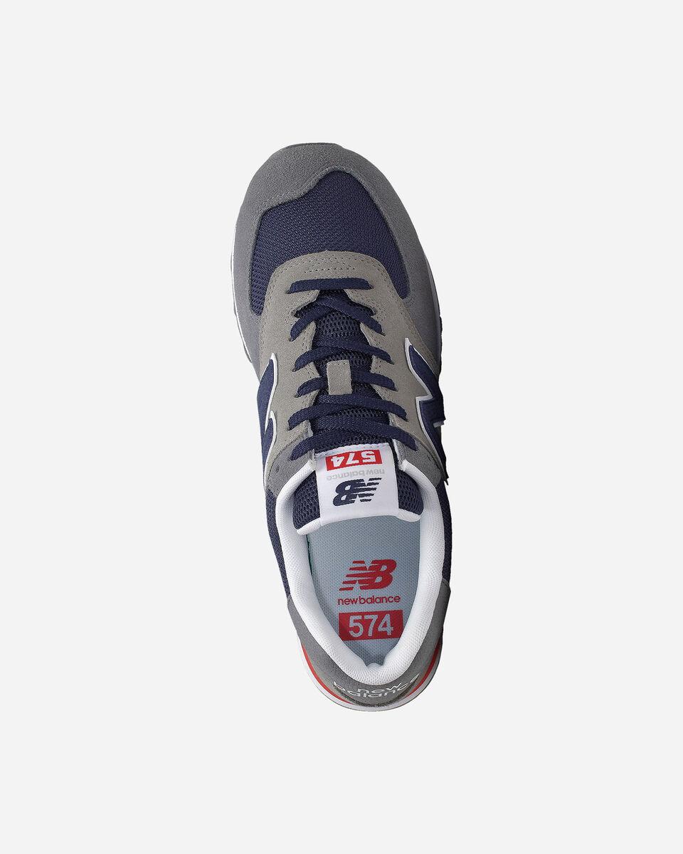 Scarpe sneakers NEW BALANCE 574 M S5166032 scatto 2