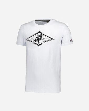 T-Shirt BEAR BIG LOGO FLOCK M