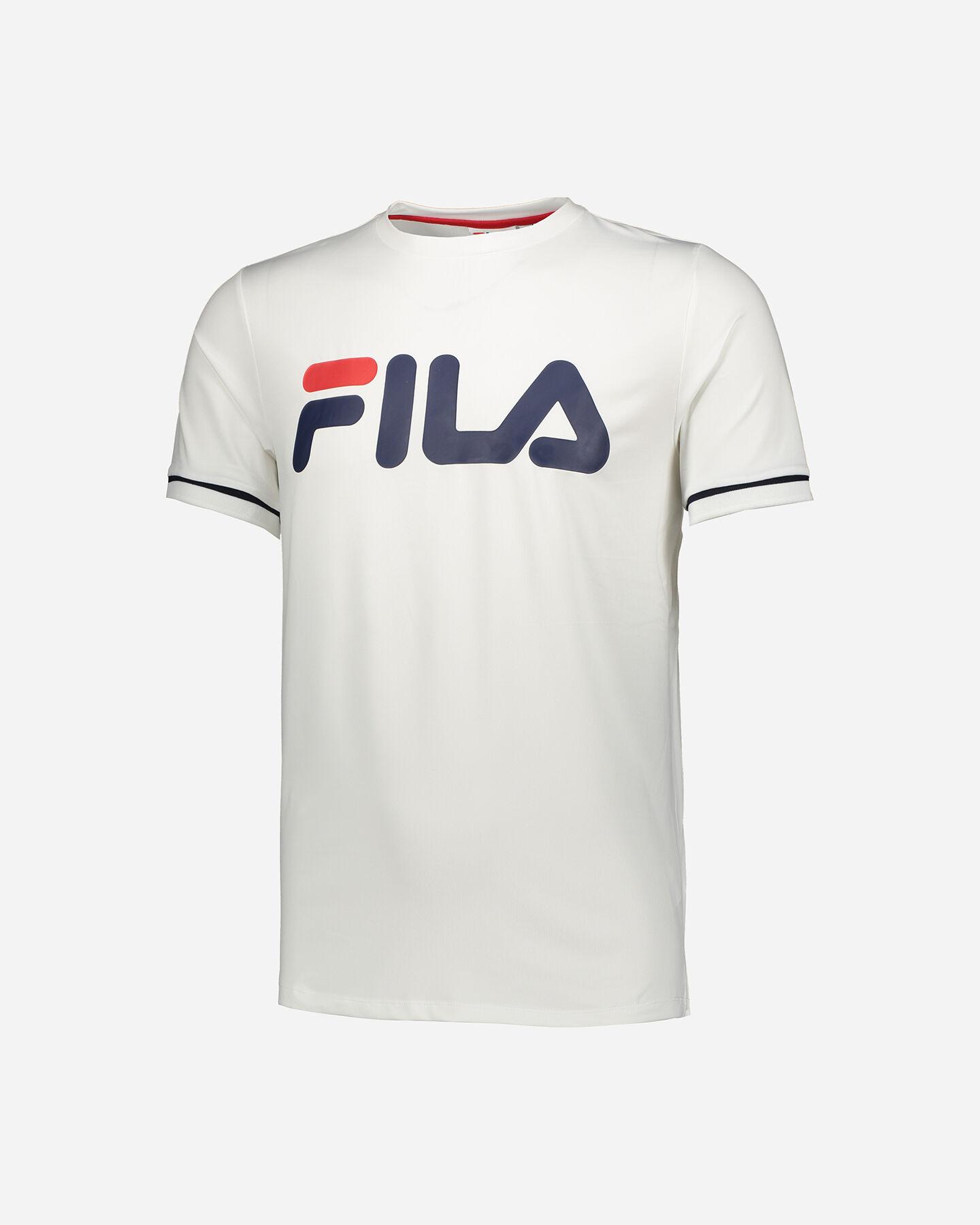 T-Shirt tennis FILA TENNIS BIG LOGO M S4060182 scatto 0