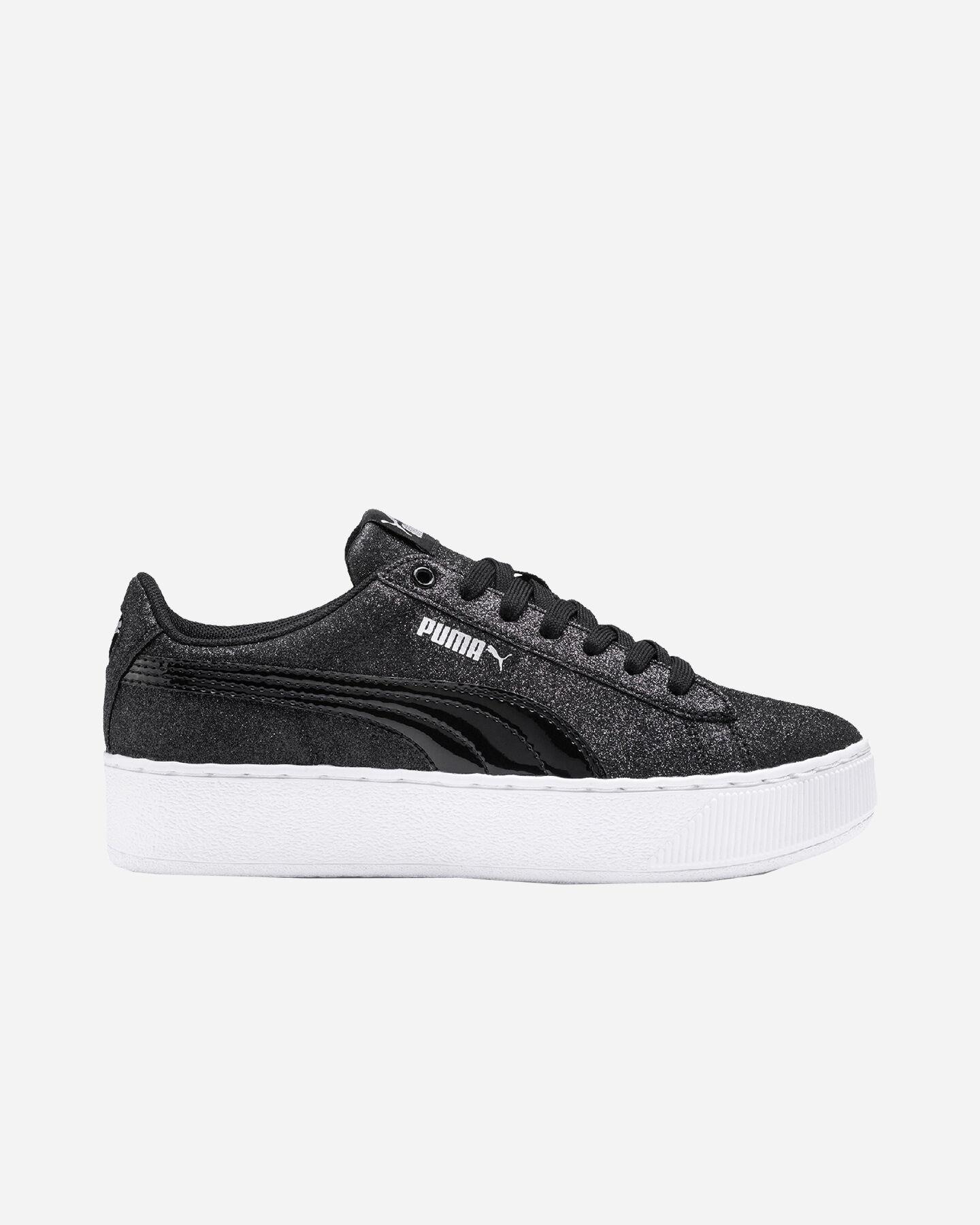 Scarpe sneakers PUMA VIKKY PLATFORM GLITZ JR GS S5087505 scatto 0