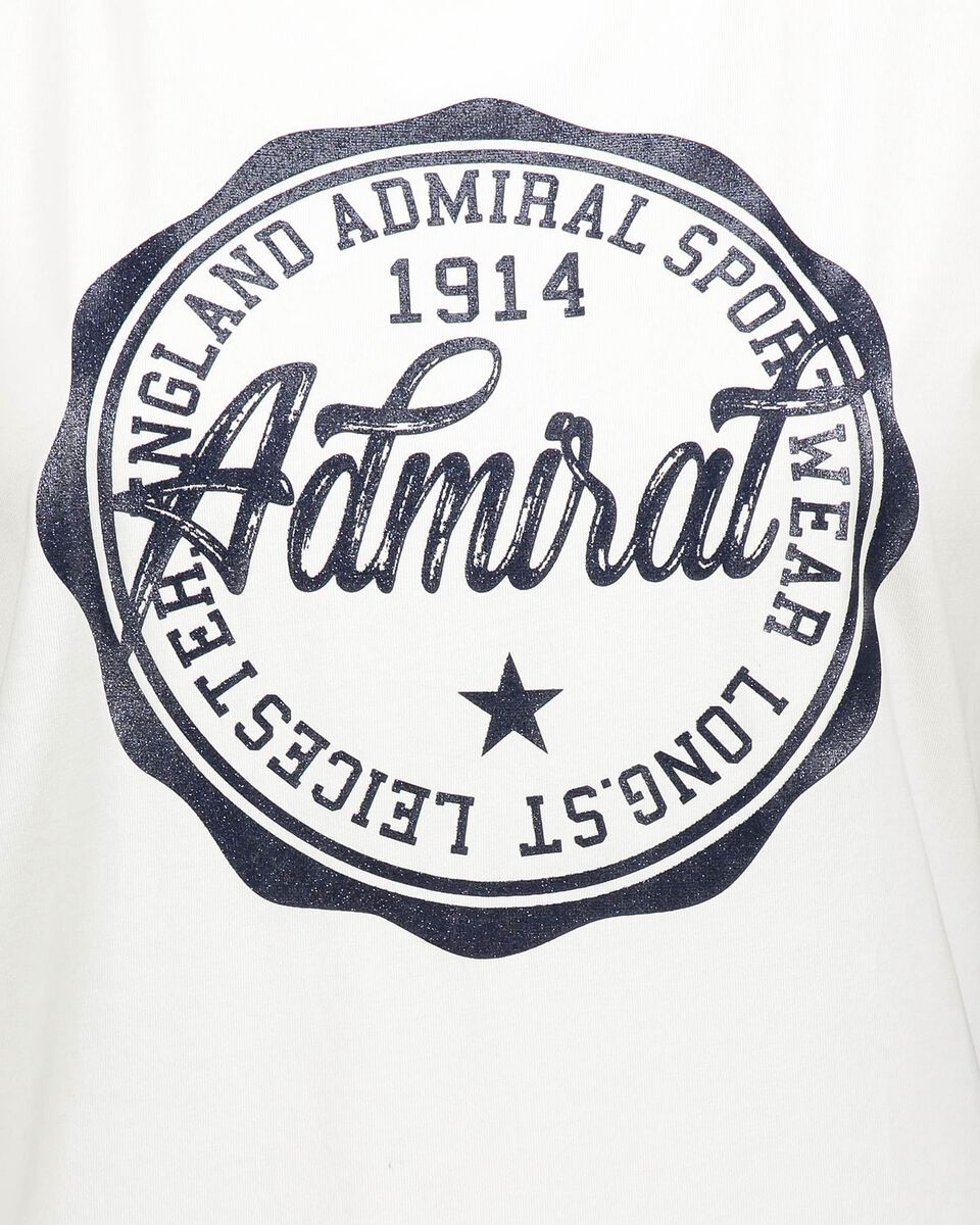 T-Shirt ADMIRAL BIG LOGO VARSITY W S4087705 scatto 2