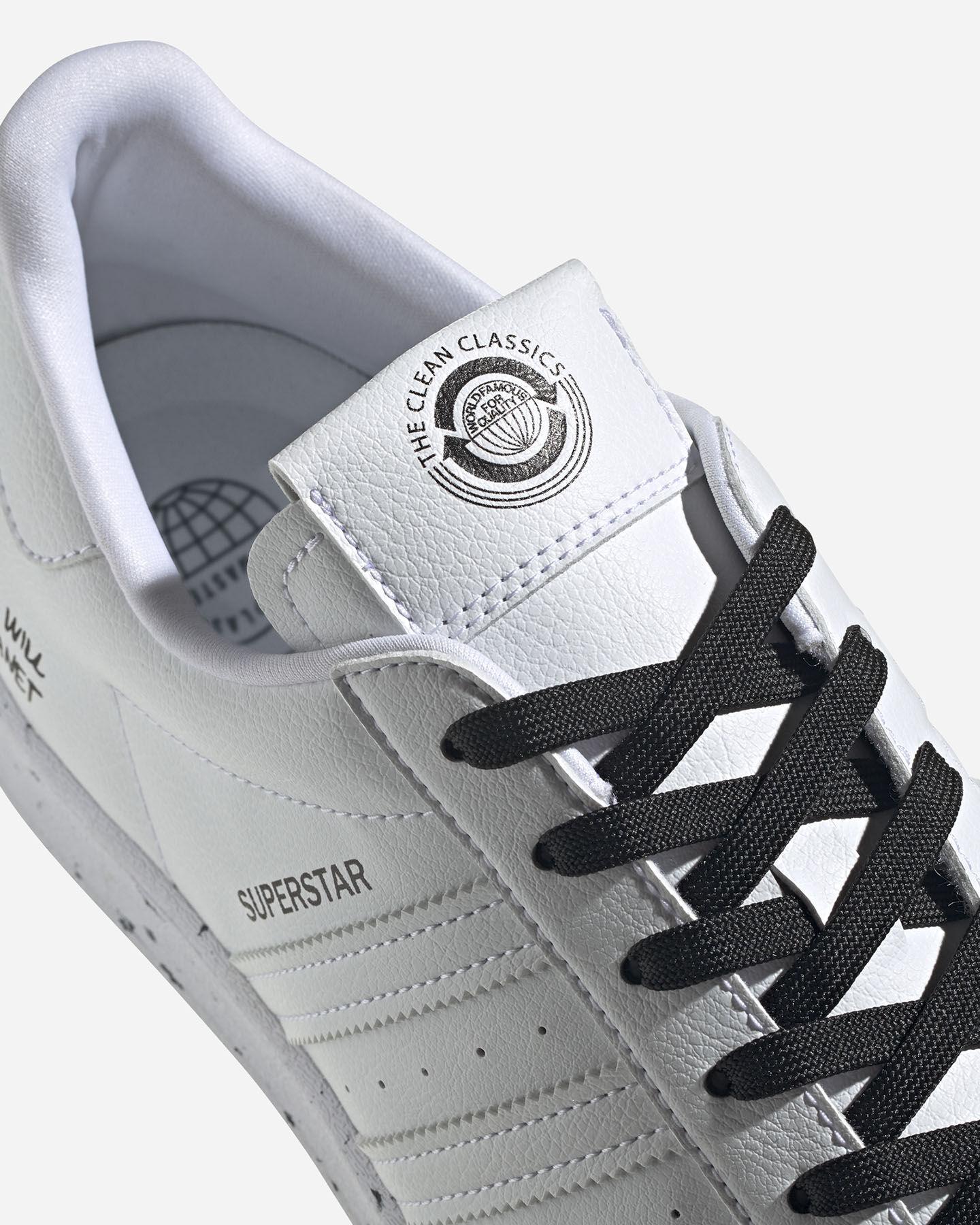 Scarpe sneakers ADIDAS SUPERSTAR VEGAN M S5209270 scatto 4