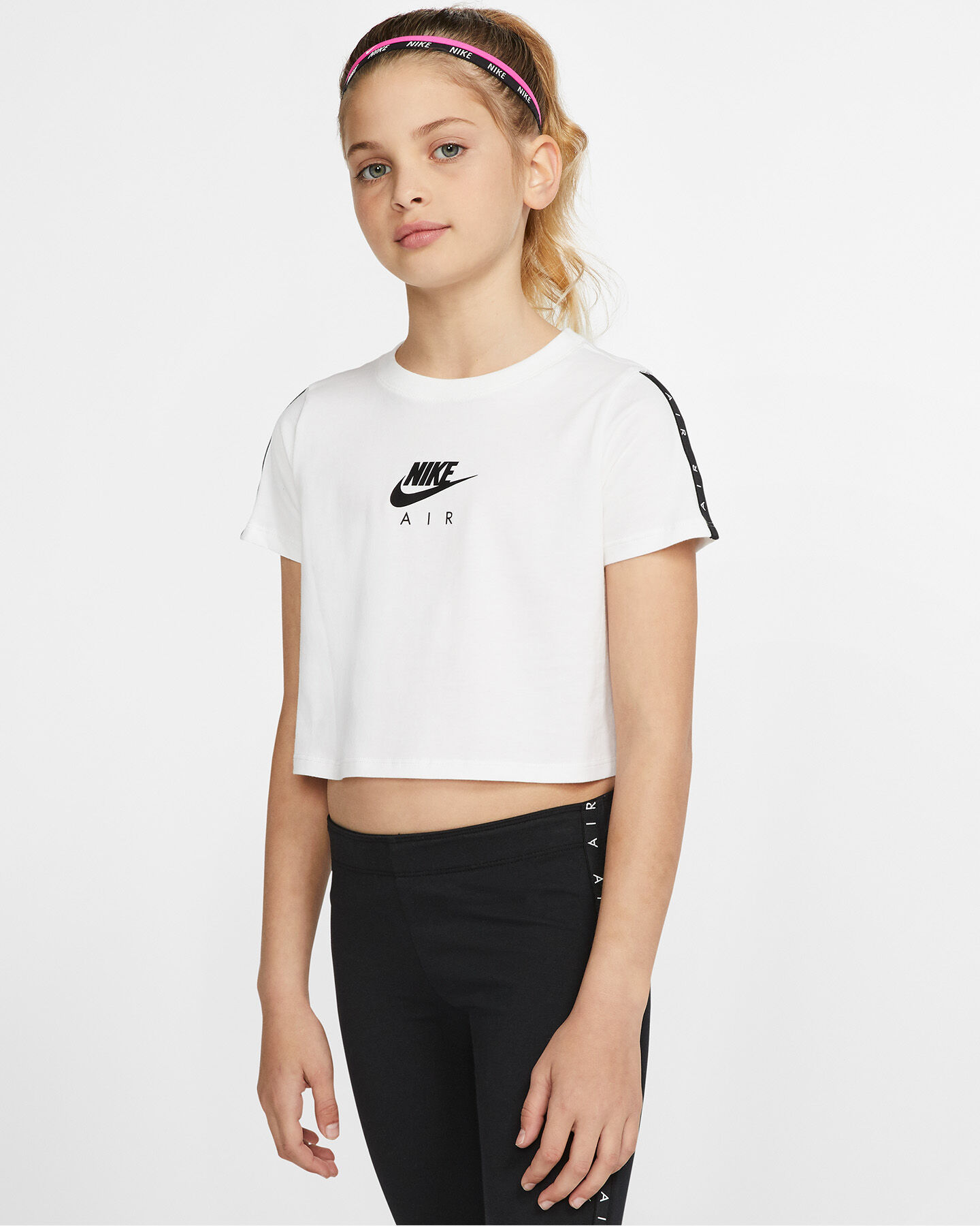 T-Shirt NIKE AIR TAPE JR S5165084 scatto 2