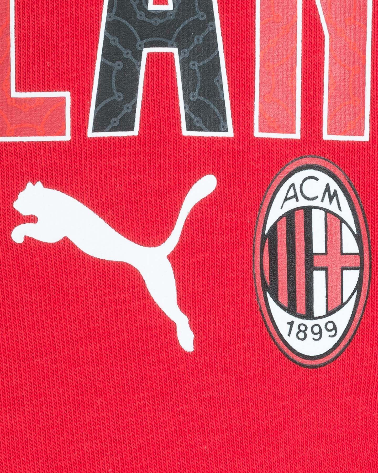Abbigliamento calcio PUMA MILAN CC JR S5235904 scatto 2