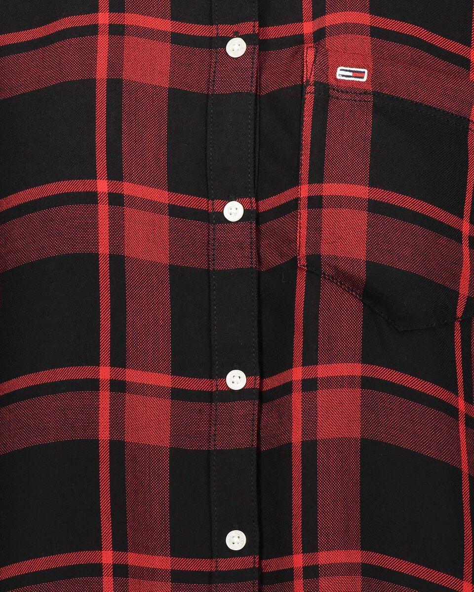 Camicia TOMMY HILFIGER CHECK W S4083549 scatto 2