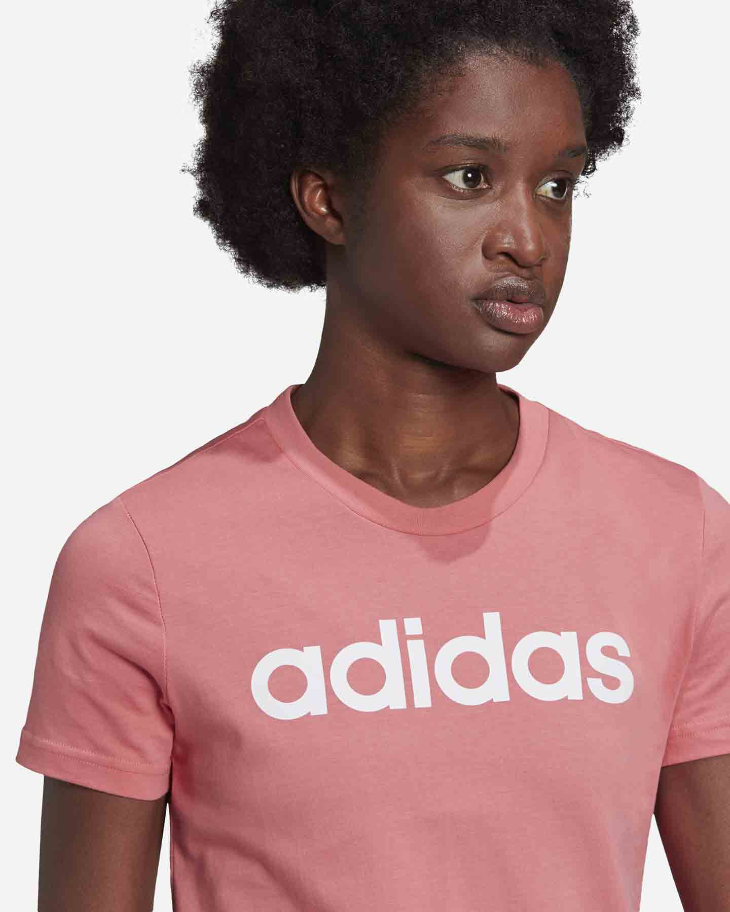 T-Shirt ADIDAS LINEAR W S5273057 scatto 4
