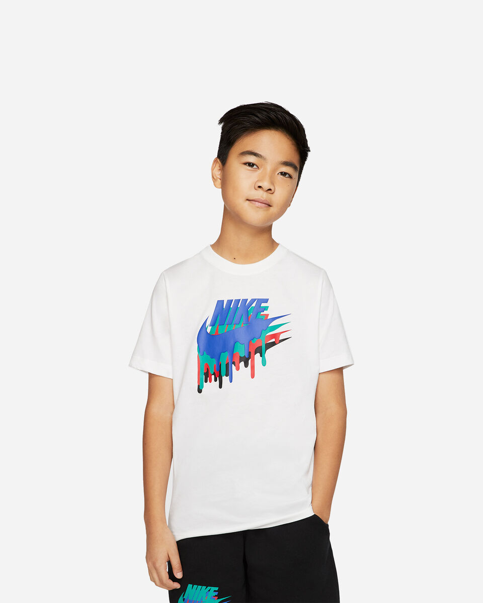 T-Shirt NIKE CRAYON JR S5165057 scatto 0