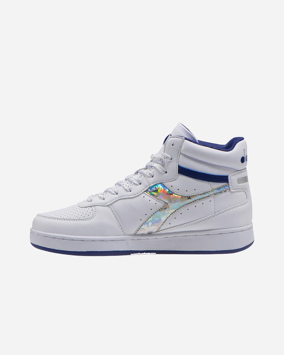 Scarpe sneakers DIADORA PLAYGROUND HIGH JR GS S5089894 scatto 5