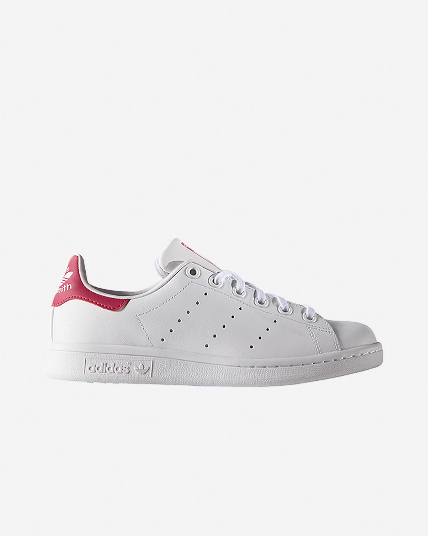 Scarpe sneakers ADIDAS STAN SMITH JR GS S5069438 scatto 0