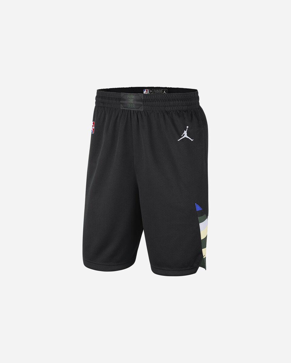 Pantaloncini basket NIKE MILWAUKEE SWINGMAN STATEMENT 20 M S5227969 scatto 0