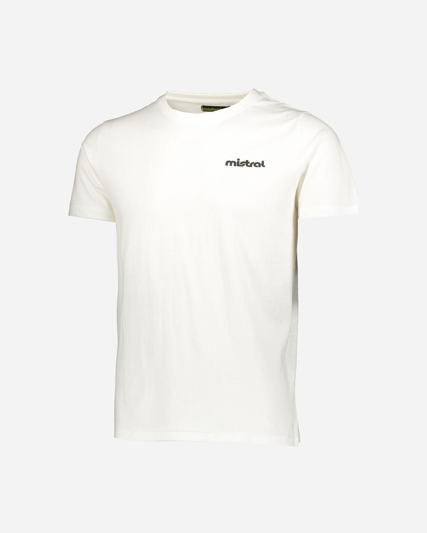 T-Shirt running MISTRAL BACK LOGO U S4076899 scatto 0