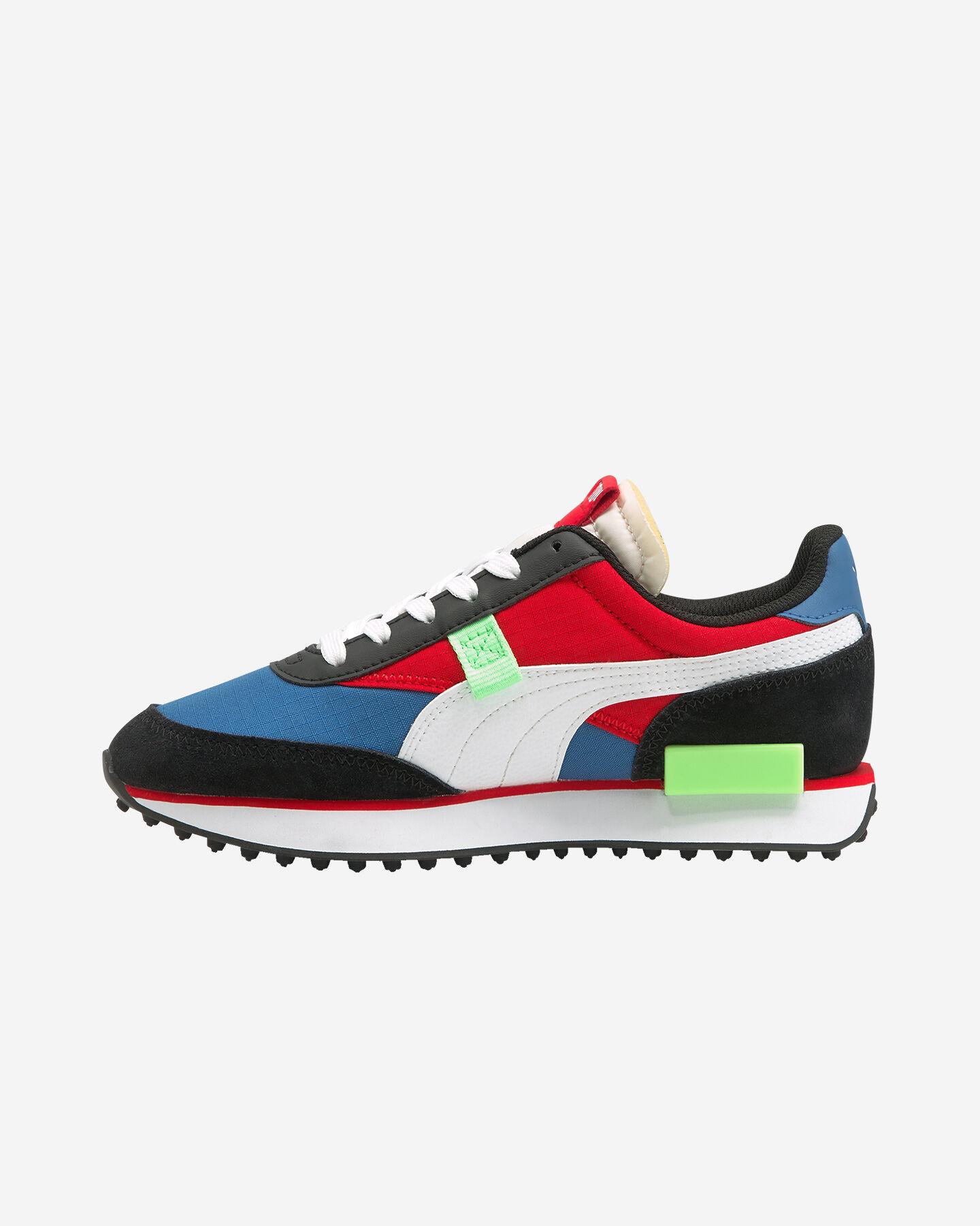 Scarpe sneakers PUMA FUTURE RIDER PLAY ON GS JR S5283249 scatto 5