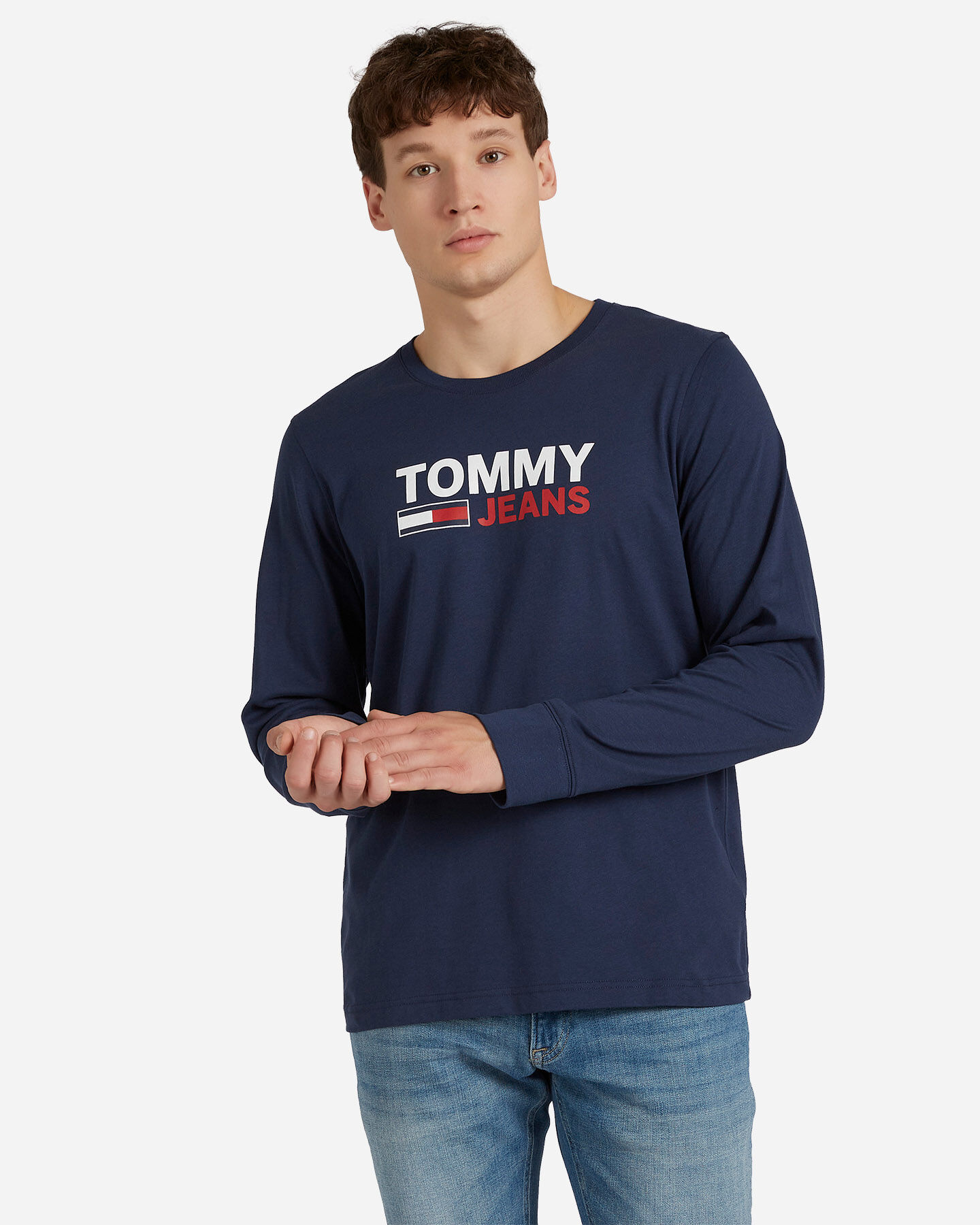 T-Shirt TOMMY HILFIGER LOGO M S4083707 scatto 0
