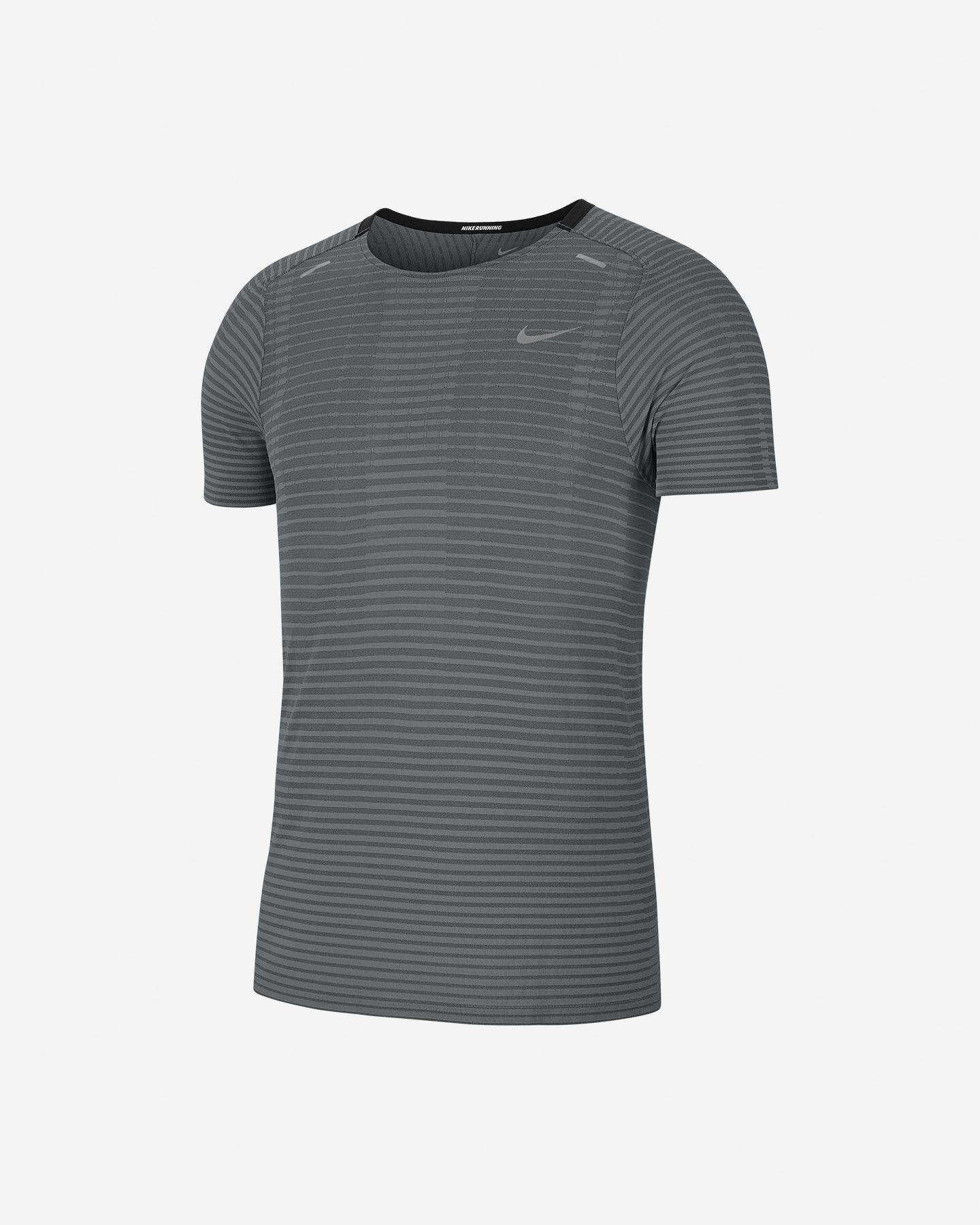 T-Shirt running NIKE TECHKNIT ULTRA M S5173310 scatto 0