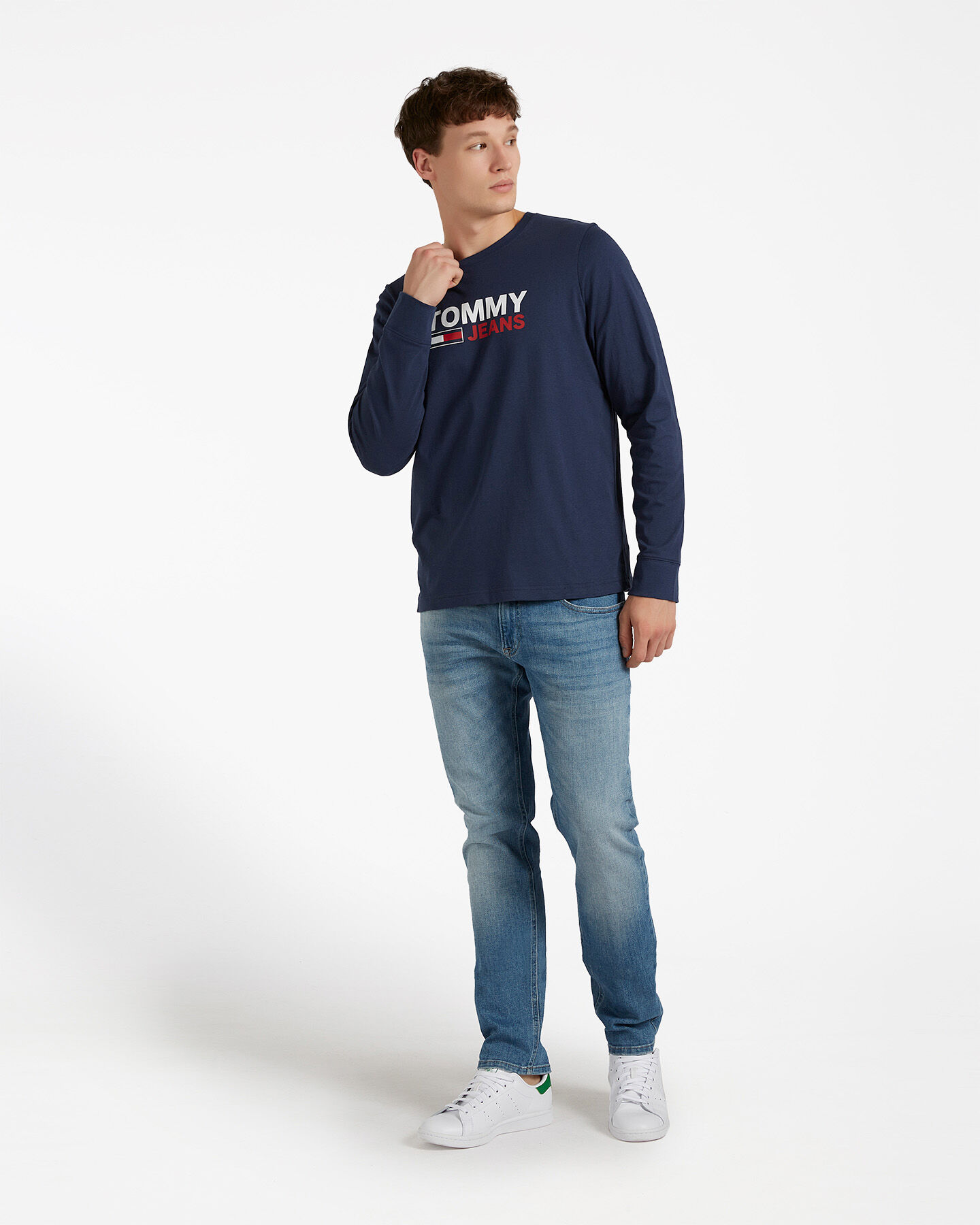 T-Shirt TOMMY HILFIGER LOGO M S4083707 scatto 1
