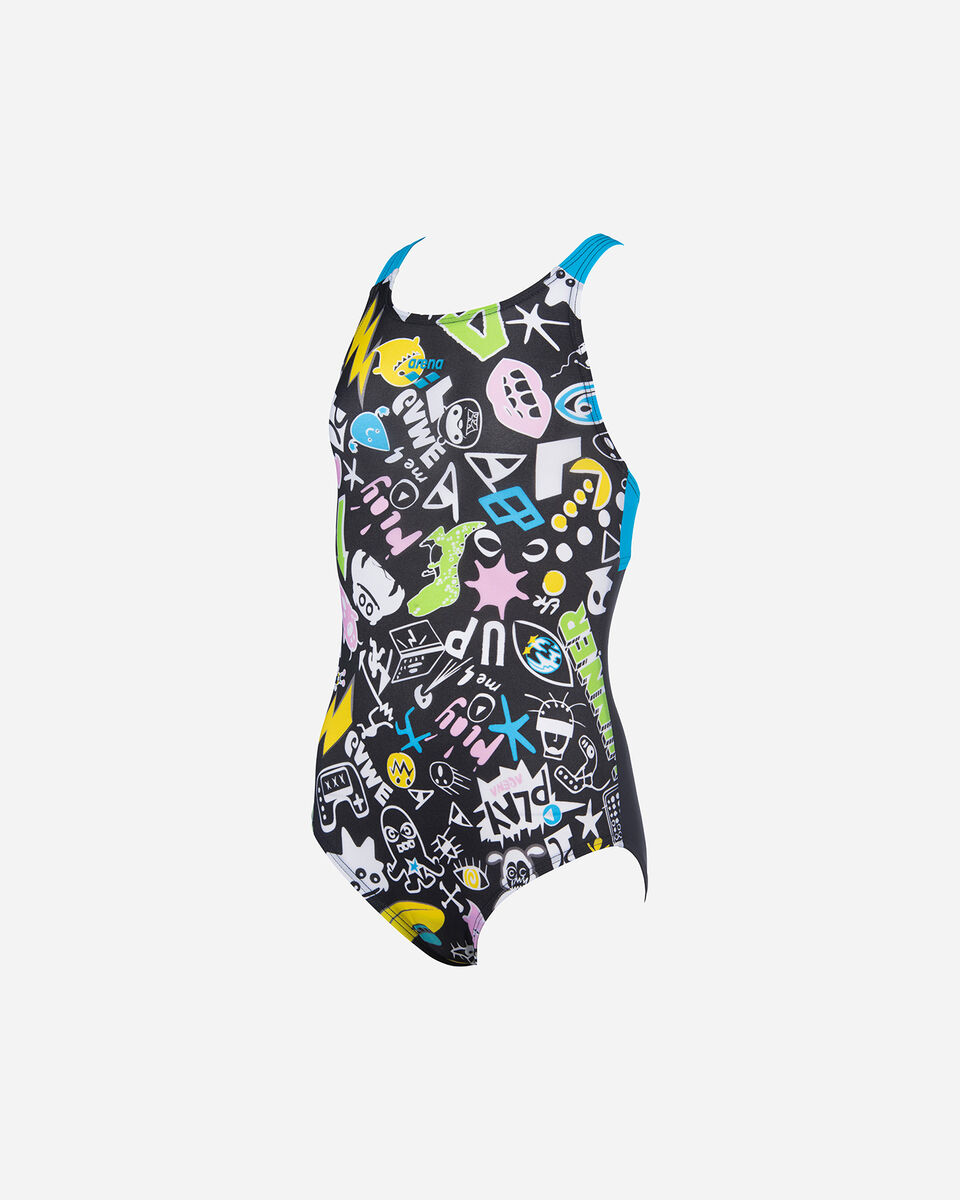 Costume piscina ARENA PLAYFUL PRO BACK JR S5265168 scatto 0