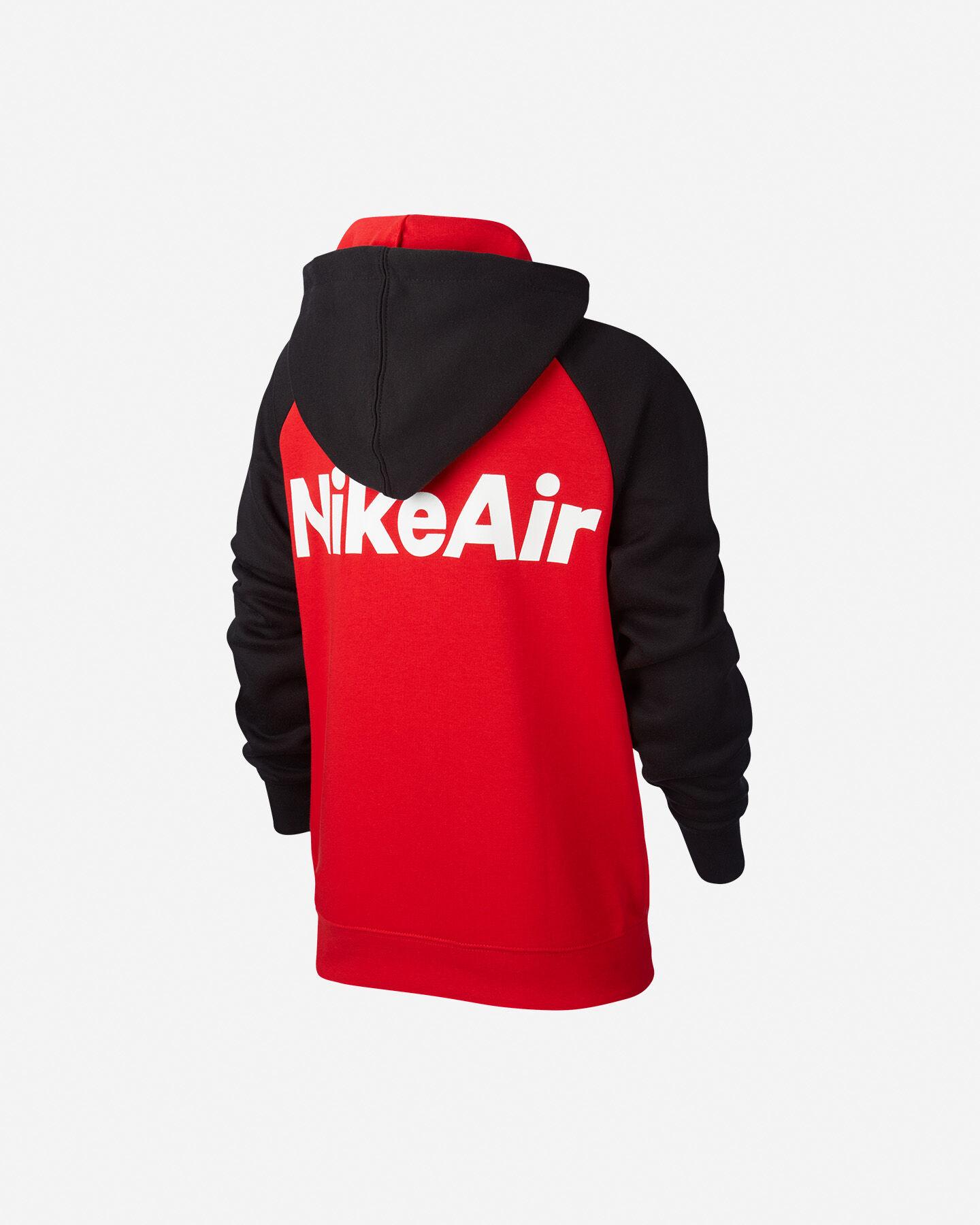 Felpa NIKE AIR COLOR BLOCK JR S5164583 scatto 1