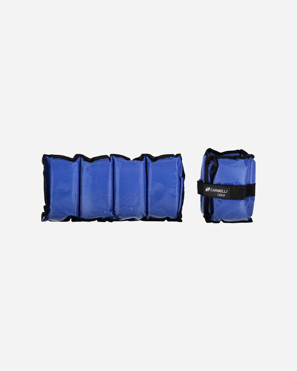 Accessorio pesistica CARNIELLI CAVIGLIERE 1,5 KG S1328745|1|UNI scatto 0