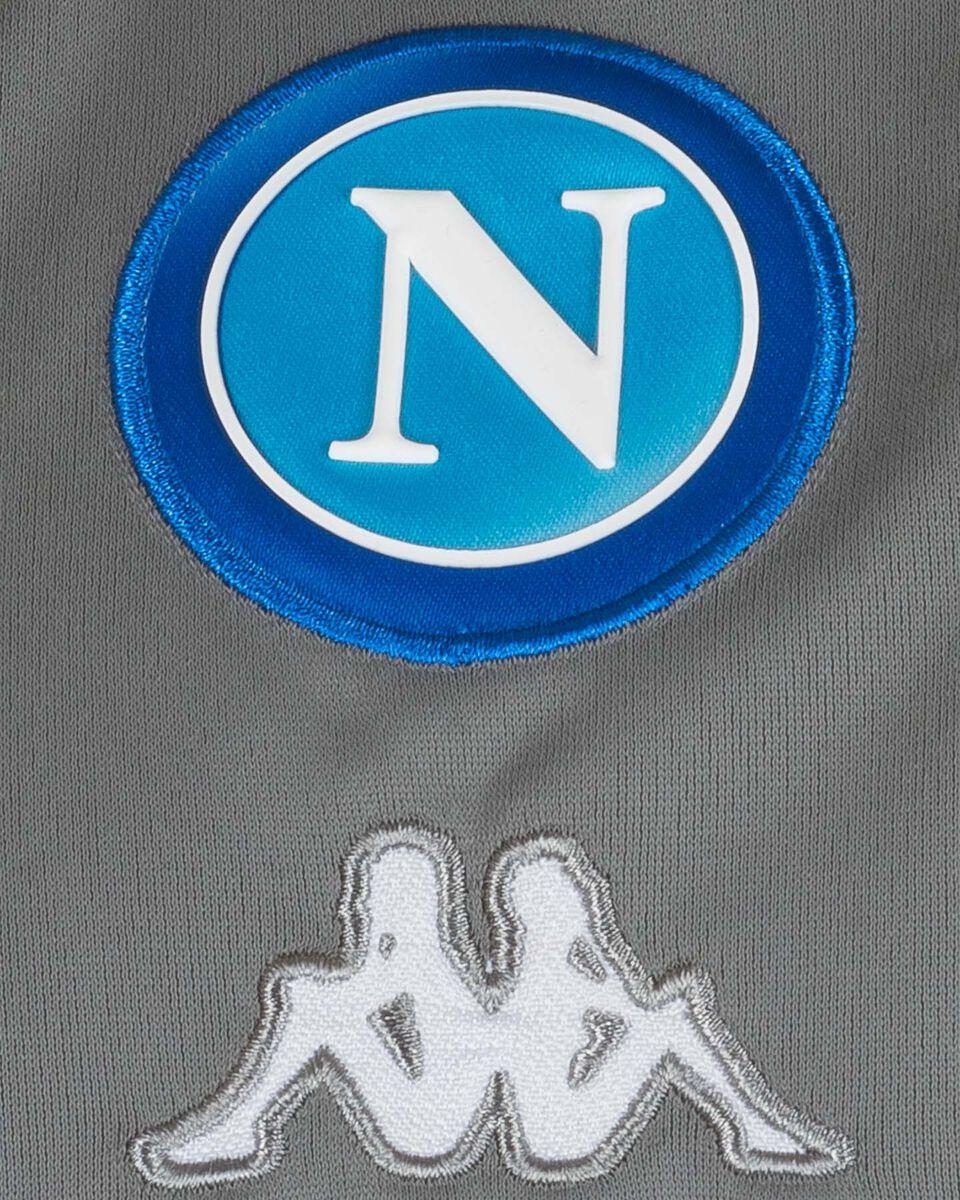 Abbigliamento calcio KAPPA NAPOLI 19-20 JR S4068316 scatto 2