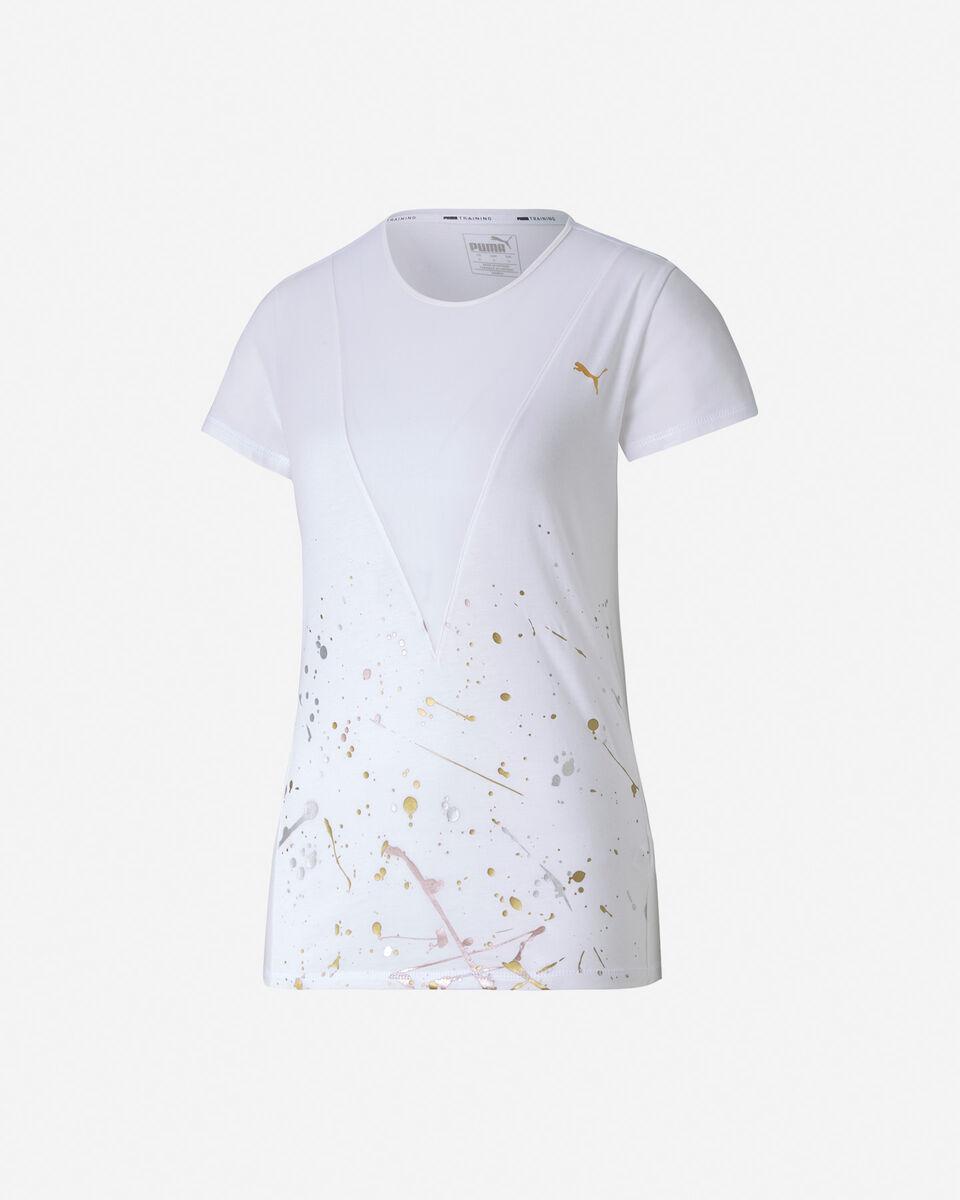 T-Shirt training PUMA V MESH W S5172770 scatto 0