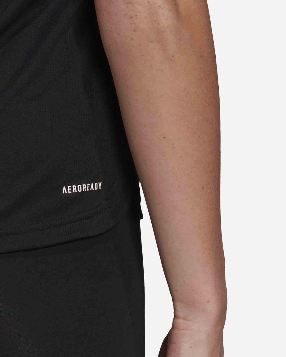T-Shirt training ADIDAS 3 STRIPES W S5274934 scatto 5