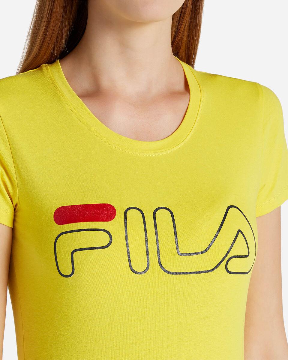 T-Shirt FILA LOGO W S4067235 scatto 4