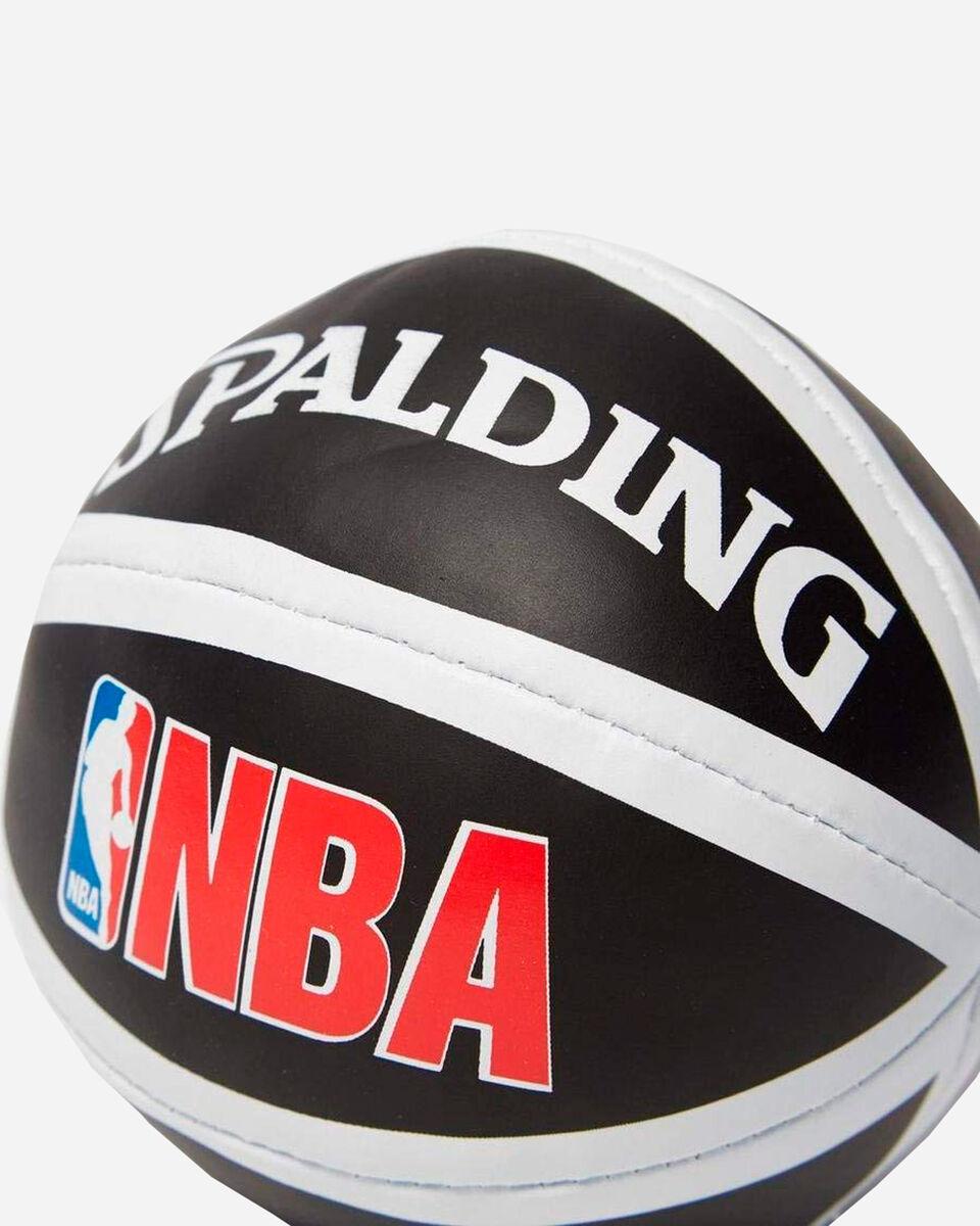 Canestro tabellone basket SPALDING NBA MINIBOARD MIAMI HEAT S1317875|9999|UNI scatto 2