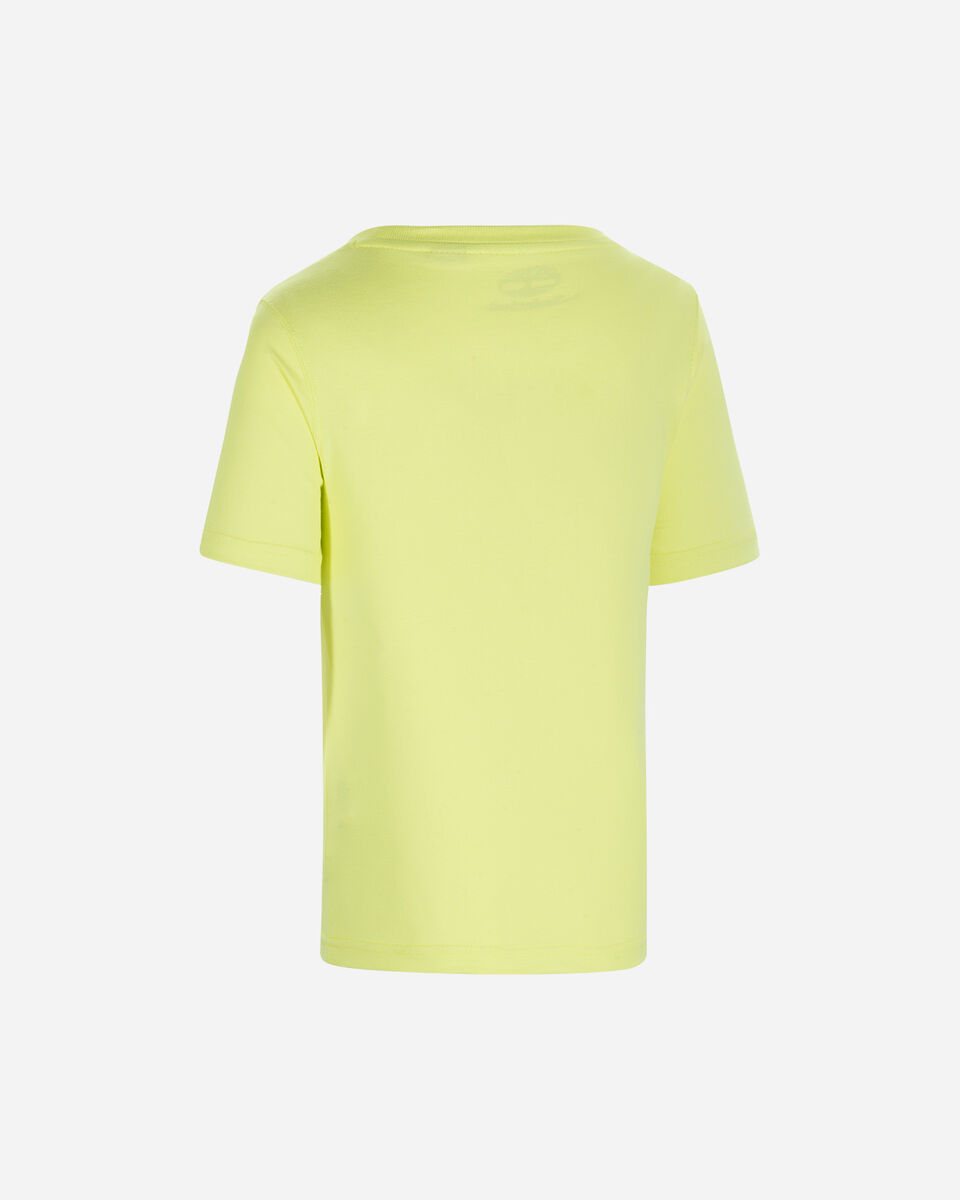 T-Shirt TIMBERLAND PLOGO EXTENDED JR S4088890 scatto 1
