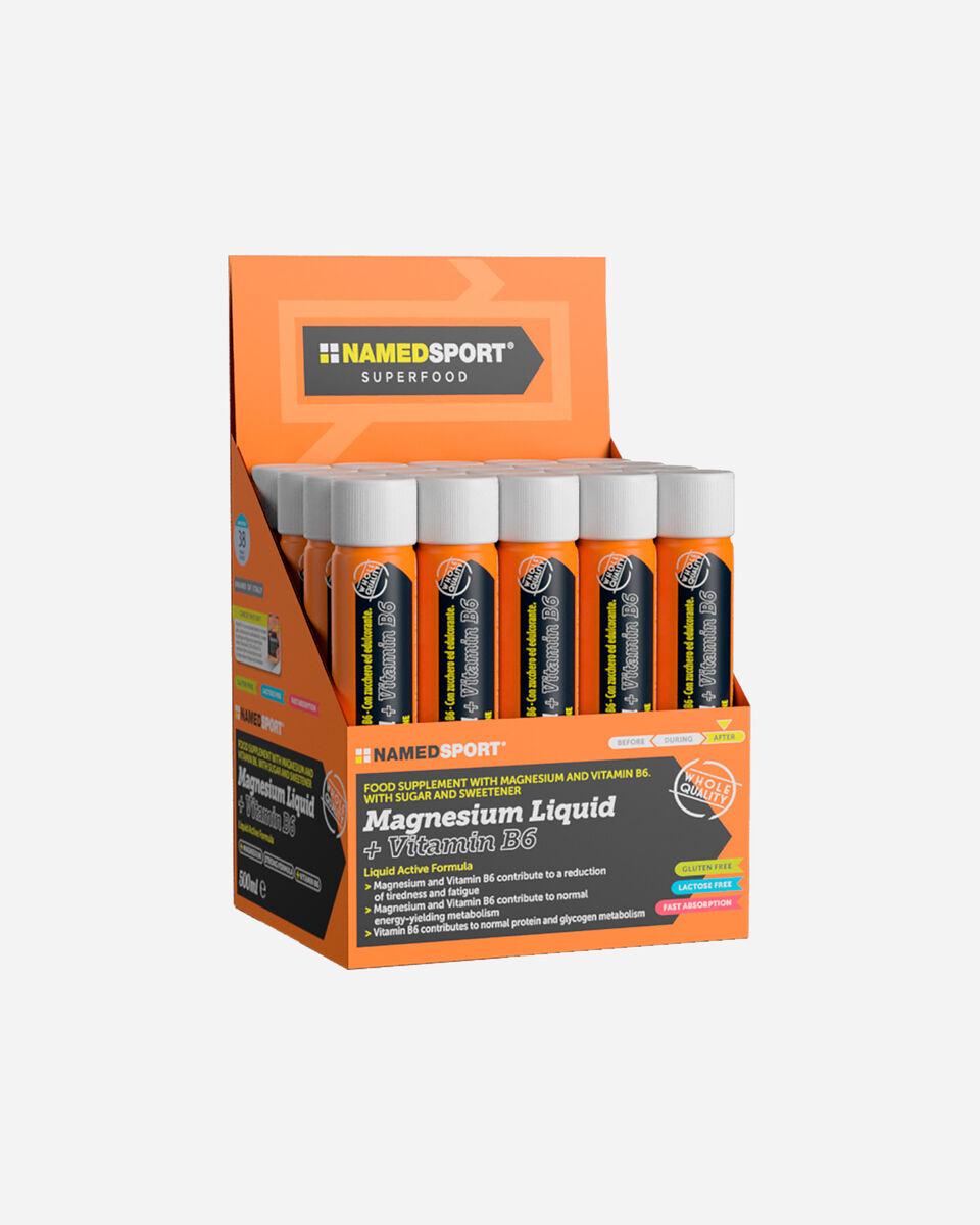 Energetico NAMED SPORT MAGNESIO LIQUIDO+VITAMINA B6 25ML S1311857|1|UNI scatto 0
