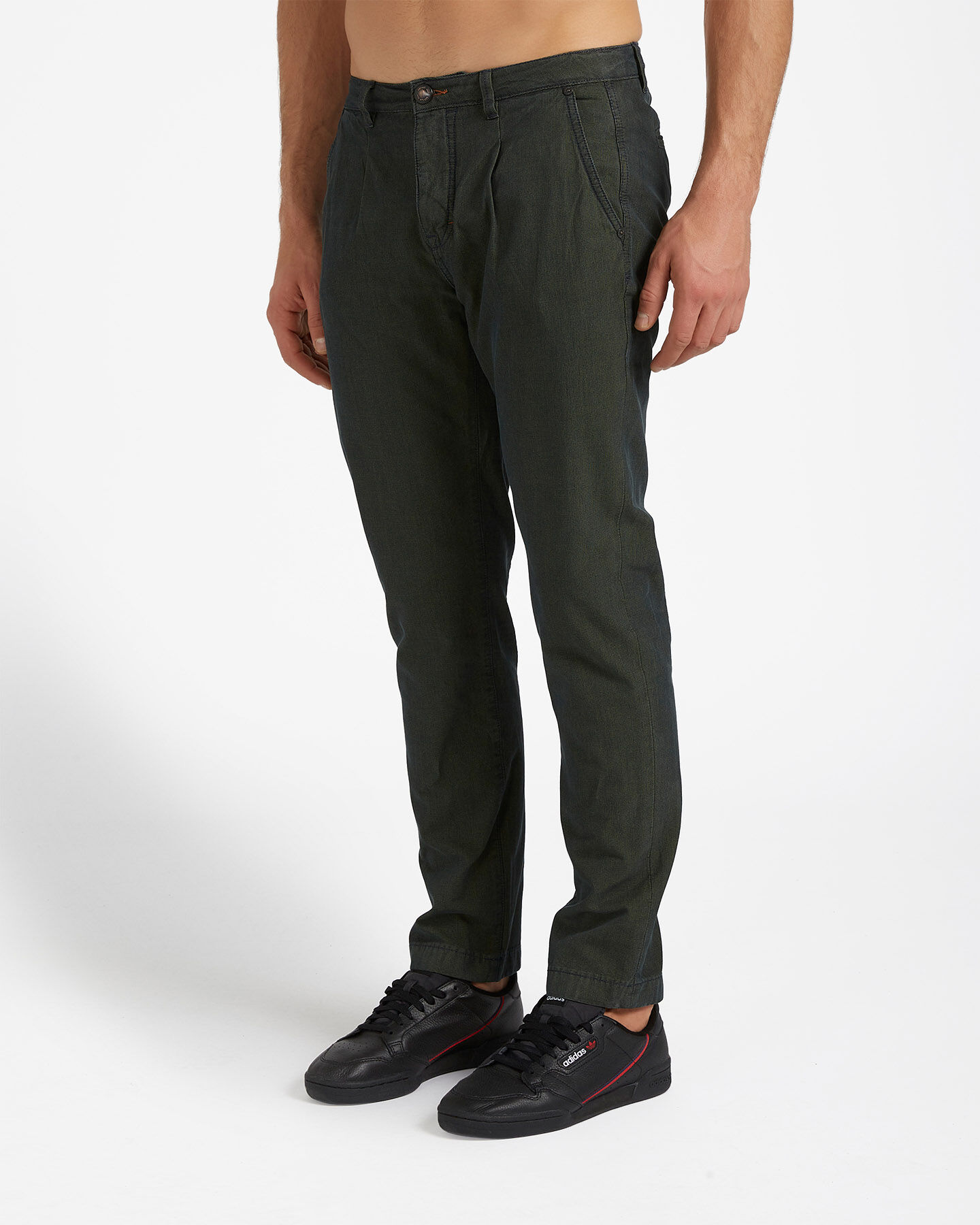 Pantalone COTTON BELT CHINO STRETCH M S4076644 scatto 2