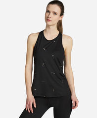TRAINING E CROSSFIT donna NIKE PRO PRINTED TANK SWOOSH W